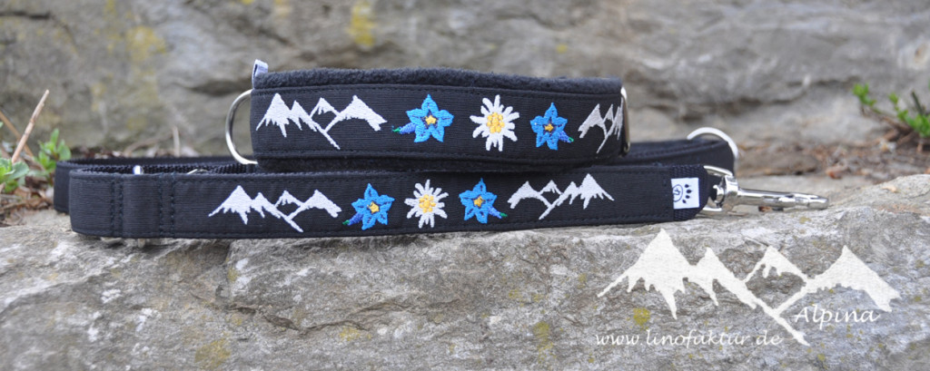 Halsband und Leine Alpina