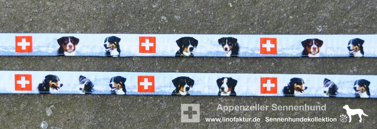 Design Appenzeller Sennenhunde Breite 25mm