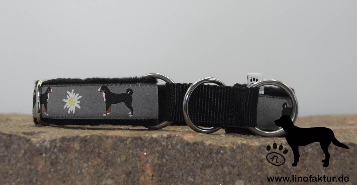 linofaktur: Webband Appenzeller Sennenhund