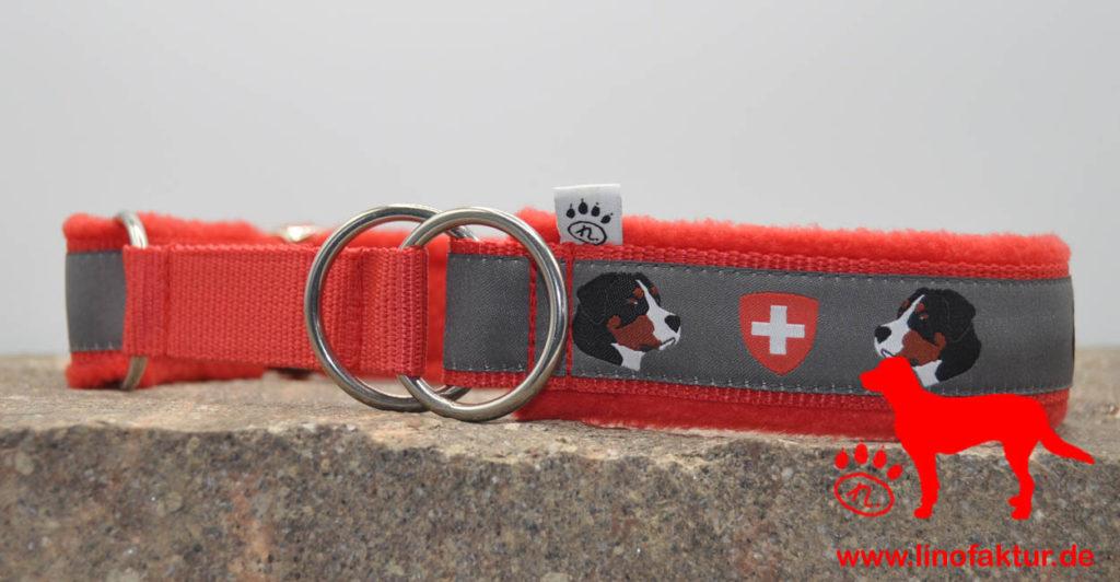 linofaktur: Webband Großer Schweizer Sennenhund