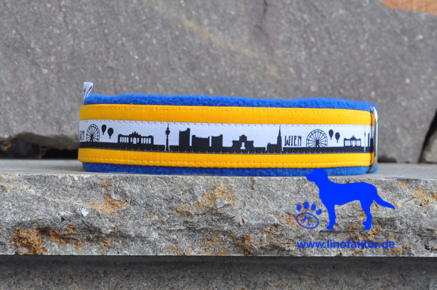 linofaktur Städtehalsband Skyline